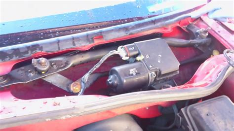 how to wind up your windshield wiper motors windhshield wiper motor fix fix windshield wipers that are stuck in up position youtube