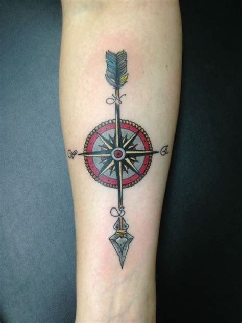 arrow compass tattoo tumblr 17 best images about tattoos on pinterest sleeve