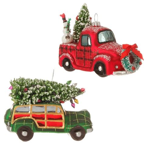 best christmas decirations for car vintage automobile ornament browse home and garden collection for faux succulents