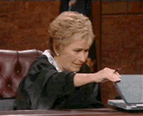 Animated Gif Meme - traumatized judge judy gif find share on giphy