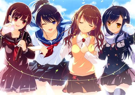 anime high school 1 high school girls hd wallpapers backgrounds