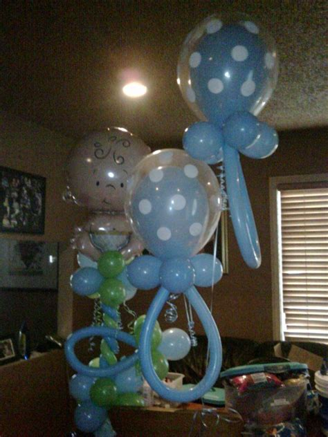 Baby Boy Balloons For Baby Shower by Baby Shower Decorations For Boy Balloon Sculpture It S A