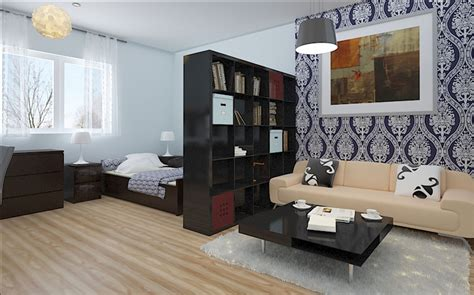 1 Bedroom Apartment Decorating Ideas One Bedroom Apartment Design Ideas Www Redglobalmx Org