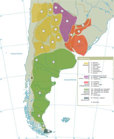 mapa america pueblos originarios etnohistoria y protagonismo ind 237 gena
