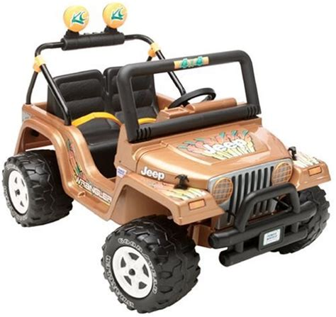 jeep power wheels modified power wheels 2004 jeep wrangler copper edition
