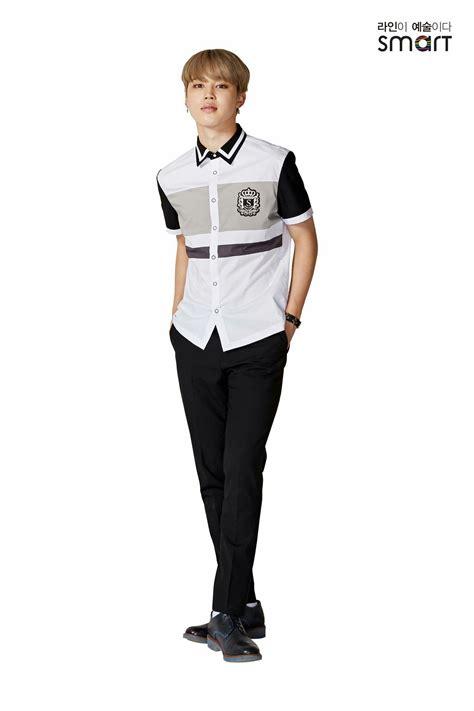 jimin bts school 170320 jimin bts x smart school uniform jimin2