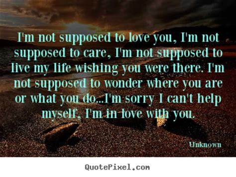 I M Not Supposed To Cry picture quotes from unknown quotepixel