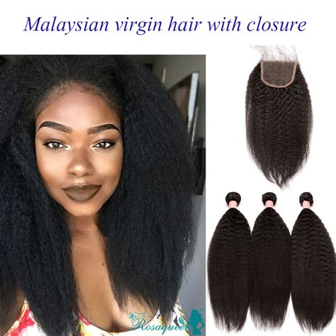aliexpress malaysia aliexpress com buy malaysian virgin hair with closure