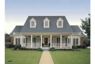 House Plans With Large Front Porch by Eplans Farmhouse House Plan Simple Symmetry 3035