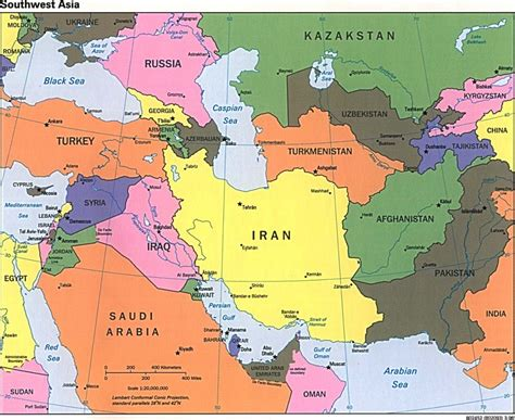 middle east map united states should the united states allow iran access to nuclear