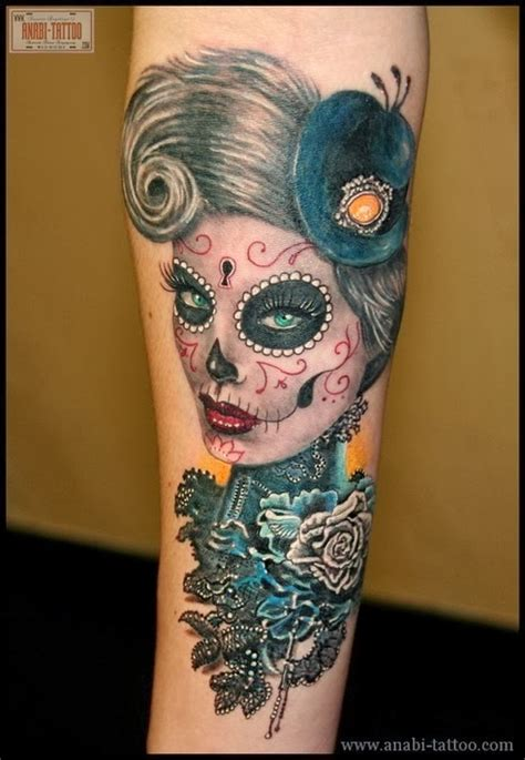 cute sugar skull tattoo designs sugar skull meaning skull designs home