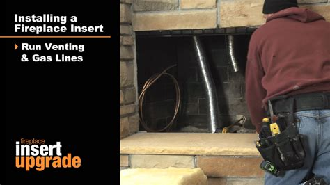gas fireplace insert installation an easy upgrade
