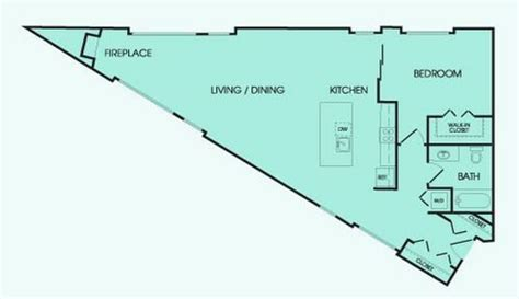 triangular floor plan don t like a rectangular shaped space try this triangle