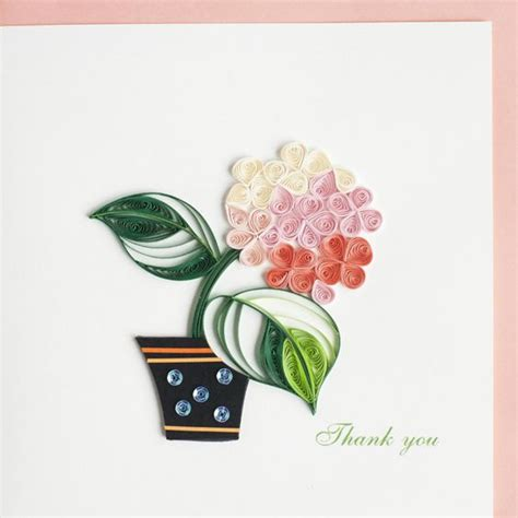 potted flower card templates pink flowers flower and greeting card on