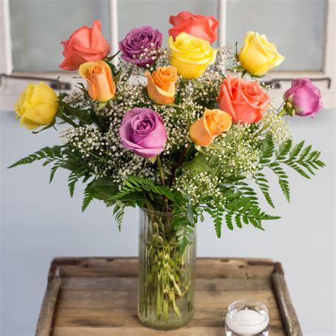 Vas Bunga Triangle Glass Vase mixed vase in cambridge ma coady florist