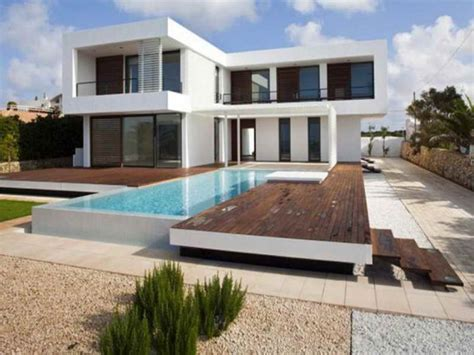 modern home design with pool architecture plan small contemporary house plans