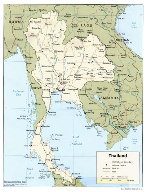 map of thailand country nationmaster maps of thailand 13 in total