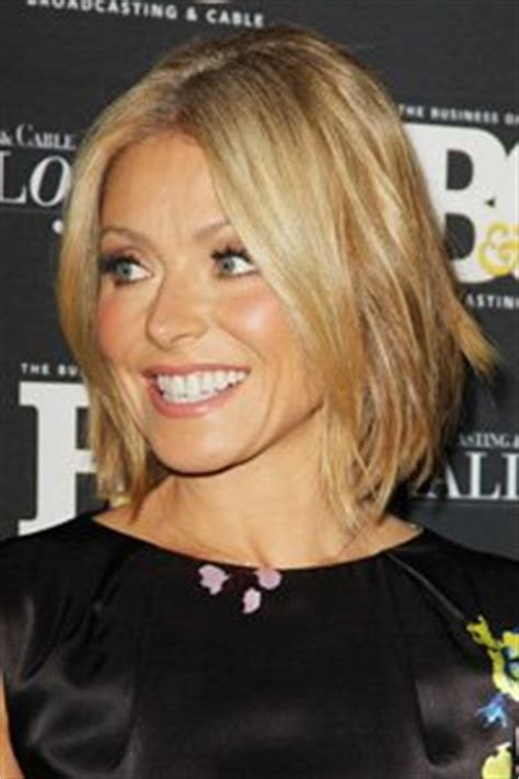 krlly tipa have thick hair if you ve got fine hair like kelly ripa go for a