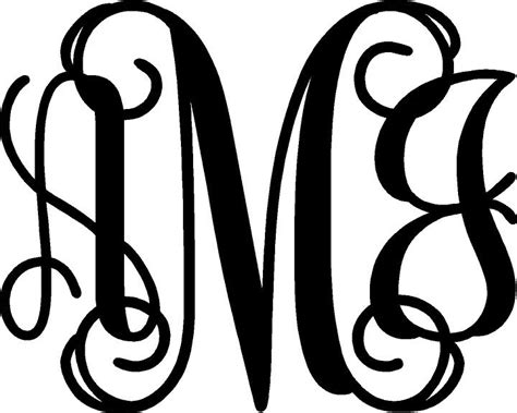 free monogram templates 3 letter monogram template search engine at search