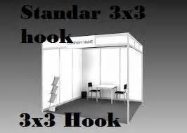 Poster 2017 29 Ukuran 90x195cm partisi system silver 3 215 3 m 1 unit jual tenda dan