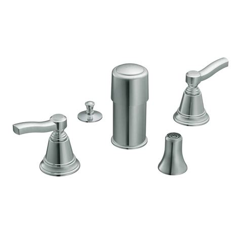 bidet kit shop moen rothbury chrome vertical spray bidet faucet trim