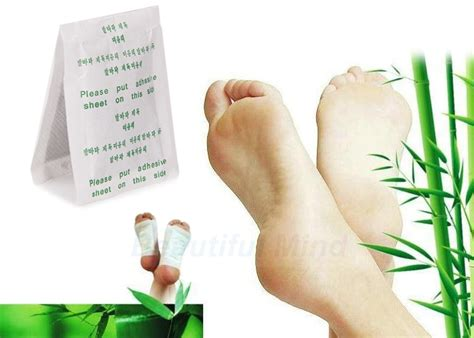 Detox Foot Pads Black And Gooey by 100 Pack Detox Foot Patch Pads Plant Toxin Removal