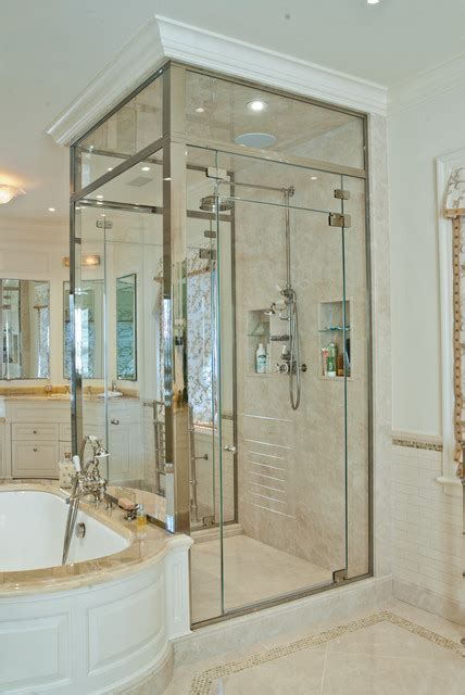 Majestic Shower Doors Majestic Series Shower Door Enclosures By Glasscrafters Inc Contemporary Bathroom New