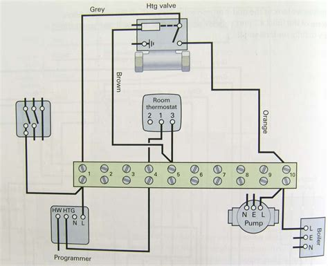 motorised valve wiring diagram electrical installation