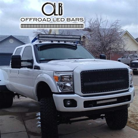 truck light bar custom offsets does 50 offroad led light bar clear cab