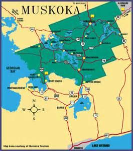 muskoka canada map romancing the genres muskoka canada s premiere summer