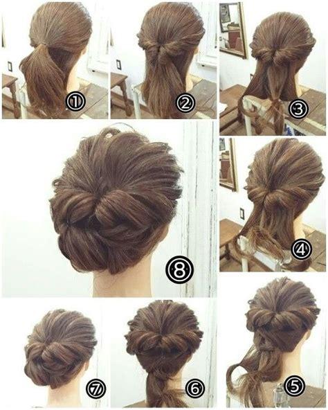 easy indian hairstyles to make on our own best 25 chignon tutorial ideas on pinterest vereniki