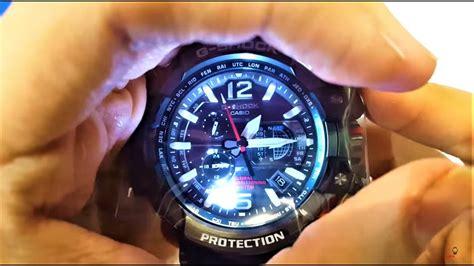 Gshock Gpw 1000 Black Blue casio g shock gravity master hybrid gps black blue gpw