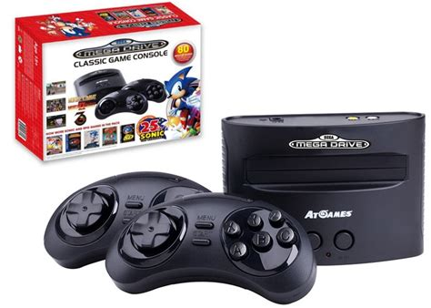 drive console sega mega drive console unveiled with 80 pre loaded