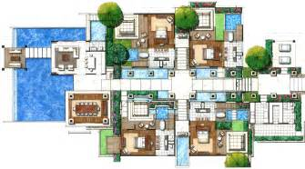 Villa Plans by Villas Floor Plans Floor Plans Villas Resorts Joy