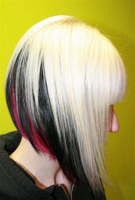 blonde bob black underneath black ombre blond bob hairstyles hair photo com