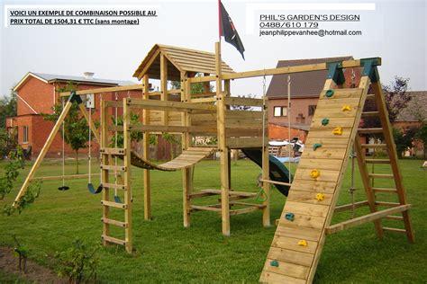 balancoire pour portique portique de jeux pour enfants cirque et balancoire