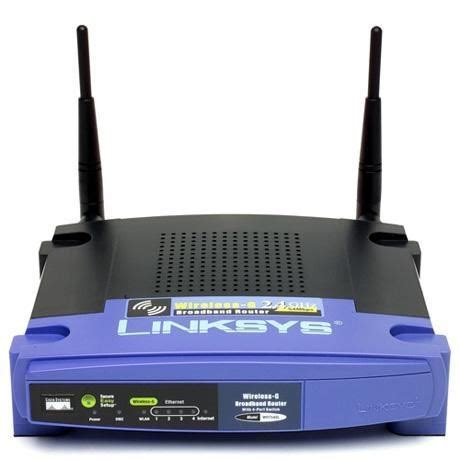 Jual Wireless Router Linksys Wrt54gl linksys by cisco wrt54gl 4 port wireless cable router wrt54gl uk ccl computers