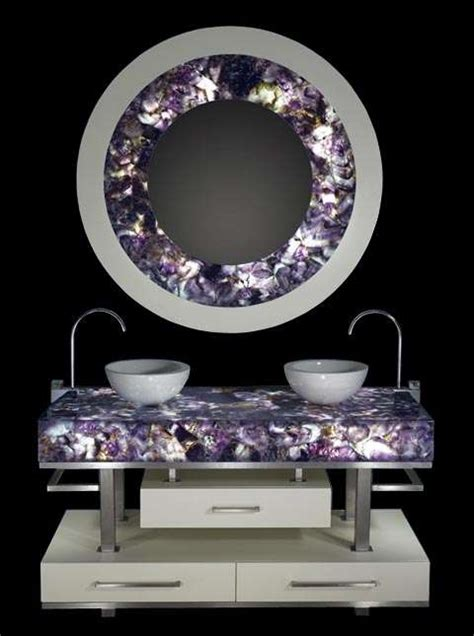 blinged  home decor gemstones  luxury interior design