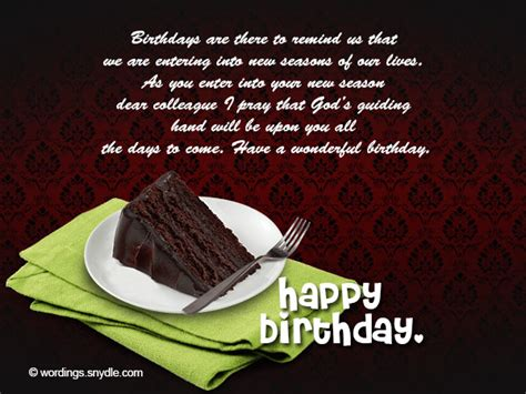 Birthday Quotes For A Colleague Birthday Messages For Colleague Wordings And Messages