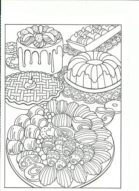 coloring pages for adults food 374 best coloring food drinks images on