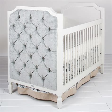 Tufted Baby Crib Beverly Crib With Tufted Panels Newport Cottages