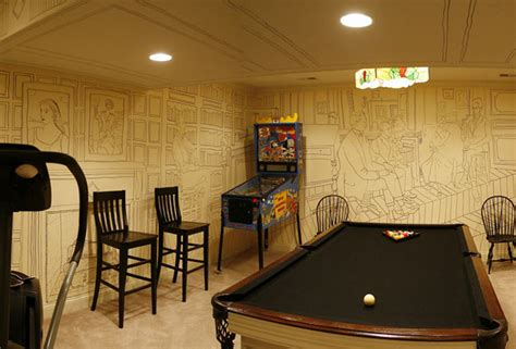 basement decor amazingly cheap and beautiful basement walls decor digsdigs