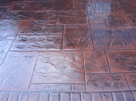 what is pattern imprinted concrete slate styles pattern imprinted concrete driveways wigan