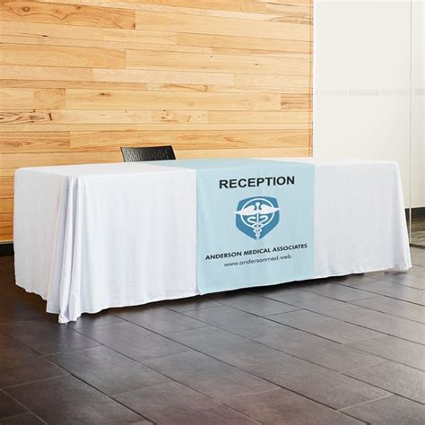 print table runners custom table runners vistaprint