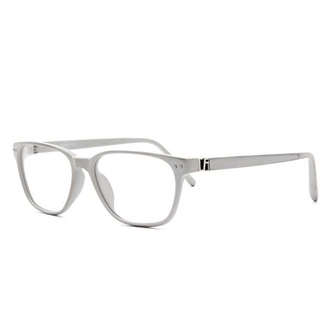 farrow luxe lfl21 c4 eyeglasses light grey with demo