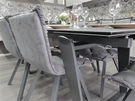 target point tavoli tavolo allungabile zeus di target point 6 sedie digione