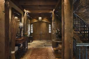 rustic log home decor rustic house design in western style ontario residence