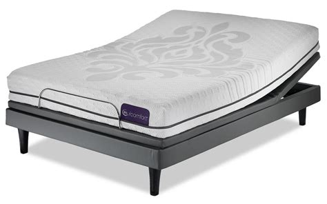 serta icomfort eco levity firm mattress and motion iii complete adjustable base