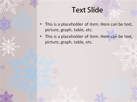 Download Free Snowflakes Powerpoint Template For Your Snowflake Powerpoint Template