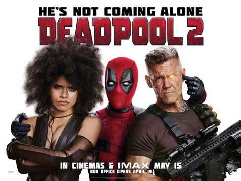 deadpool 2 poster new deadpool 2 poster shows deadpool giving cable a